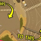 Cities Skylines | Intersection Marking Tool (Steam Workshop Mod)