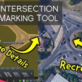 Cities Skylines Intersection Marking Tool | UK Roundabout